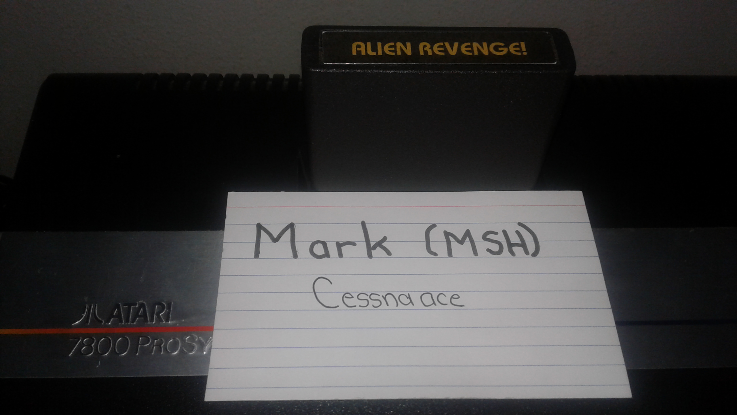 Mark: Alien Revenge (Atari 2600 Novice/B) 5 points on 2019-05-28 03:04:55