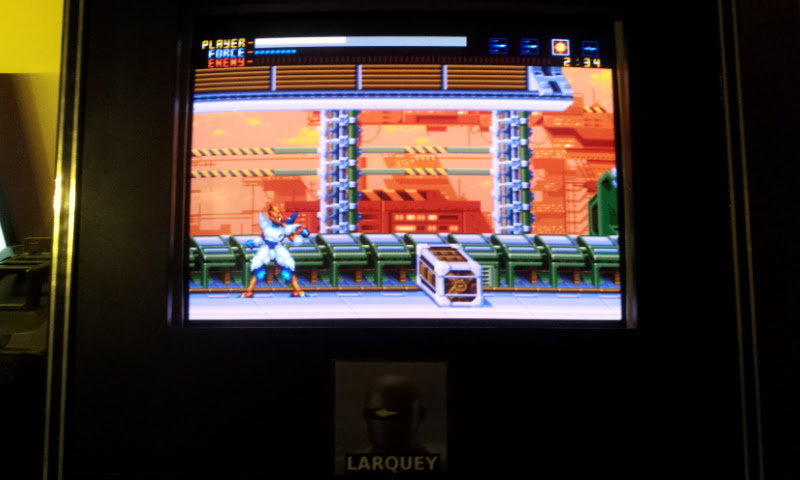 Larquey: Alien Soldier (Sega Genesis / MegaDrive Emulated) 13,650 points on 2018-01-02 11:54:56