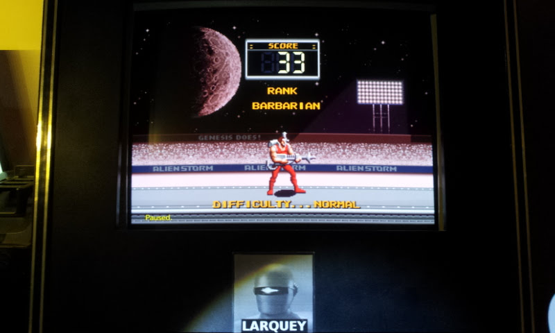 Larquey: Alien Storm [Arcade Mode] (Sega Genesis / MegaDrive Emulated) 33 points on 2018-01-02 12:03:50