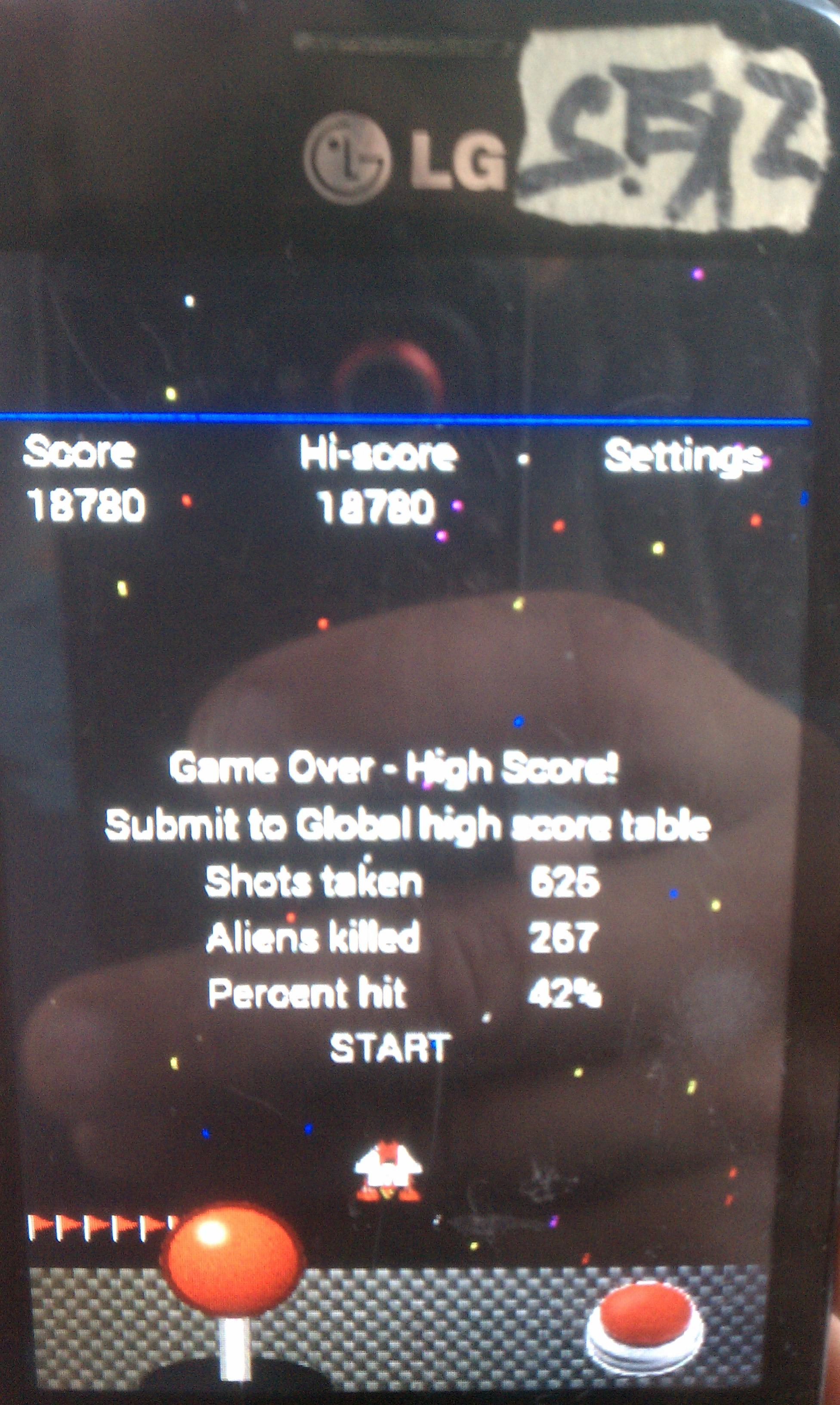 Alien Swarm 18,780 points