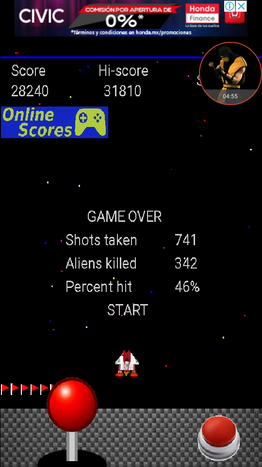 omargeddon: Alien Swarm (Android) 28,240 points on 2017-12-20 23:04:09