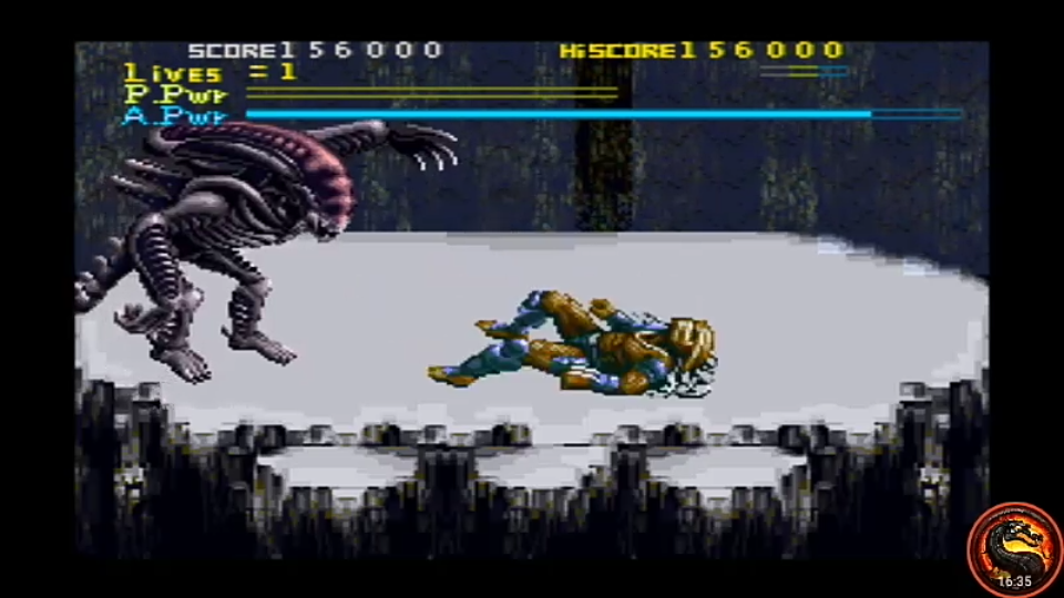 omargeddon: Alien vs Predator (SNES/Super Famicom Emulated) 156,000 points on 2020-09-11 19:20:26