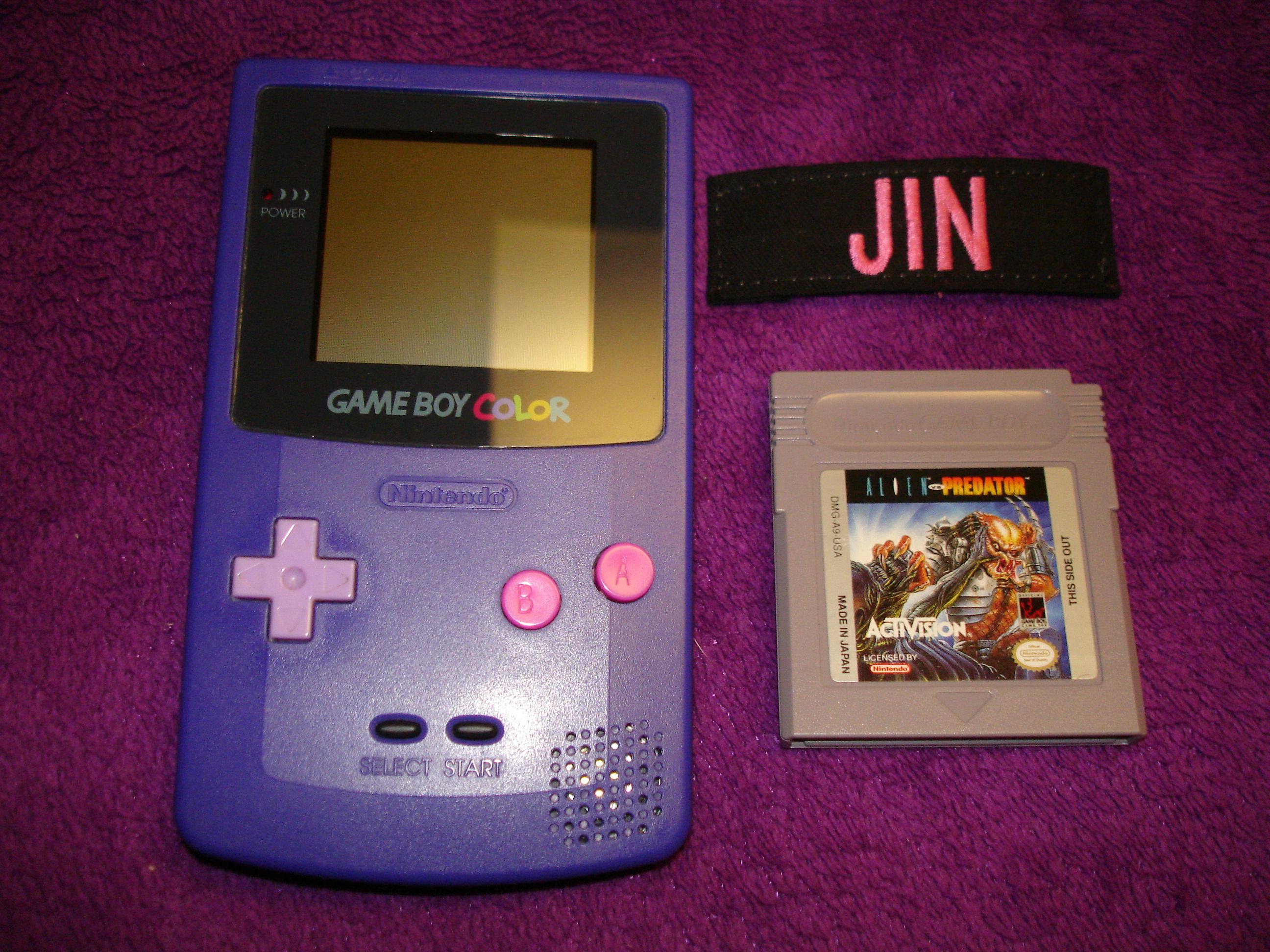 Jin: Alien vs. Predator: The Last of His Clan (Game Boy) 45,100 points on 2017-01-25 02:59:54