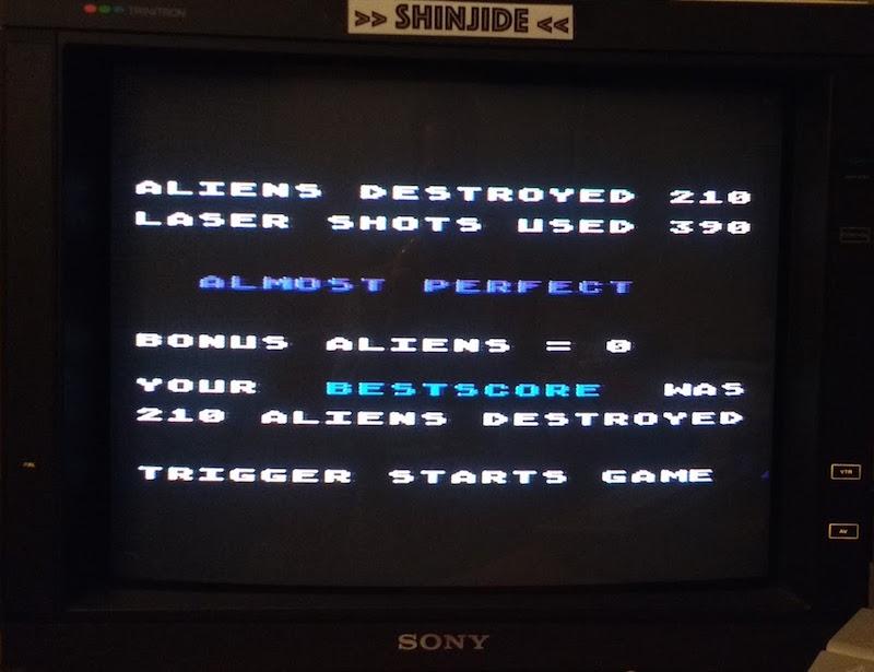 SHiNjide: Aliens (Atari 400/800/XL/XE) 210 points on 2015-11-04 05:27:46
