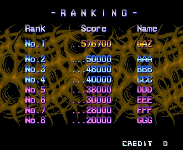 gazzhally: Aliens [aliens] (Arcade Emulated / M.A.M.E.) 576,700 points on 2016-10-18 11:54:38