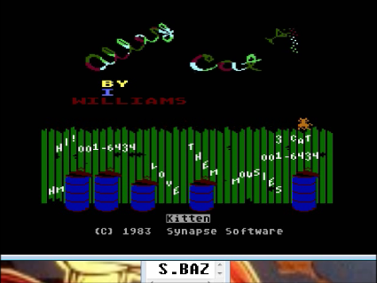 S.BAZ: Alley Cat (Atari 400/800/XL/XE Emulated) 16,434 points on 2016-09-24 15:11:06