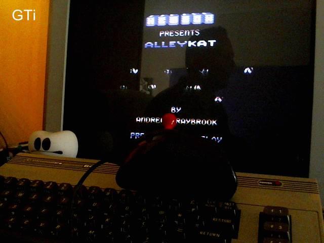 GTibel: Alleykat [C64 mode] (Commodore 64) 96,550 points on 2017-05-01 08:18:07