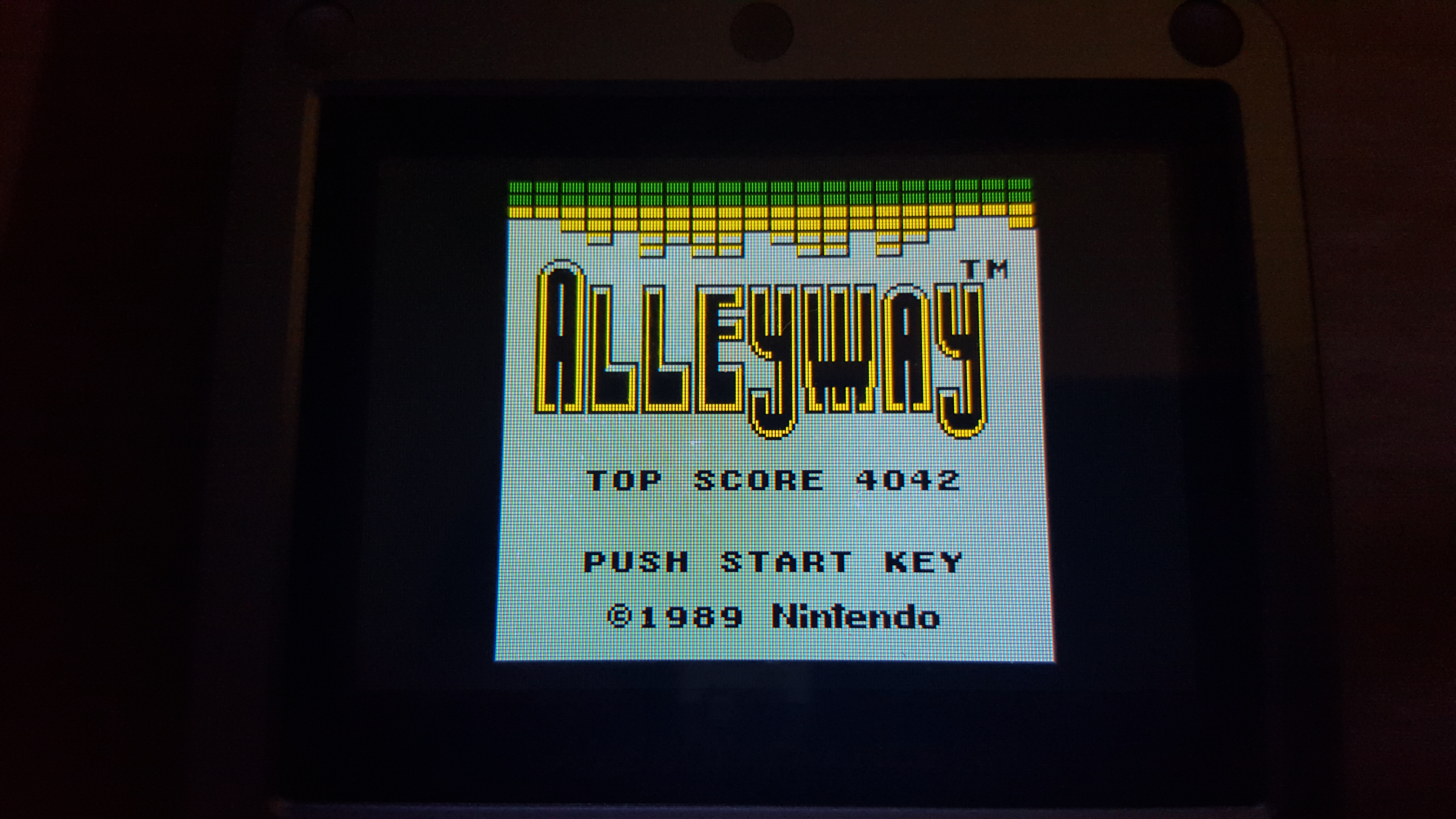 Alleyway 4,042 points