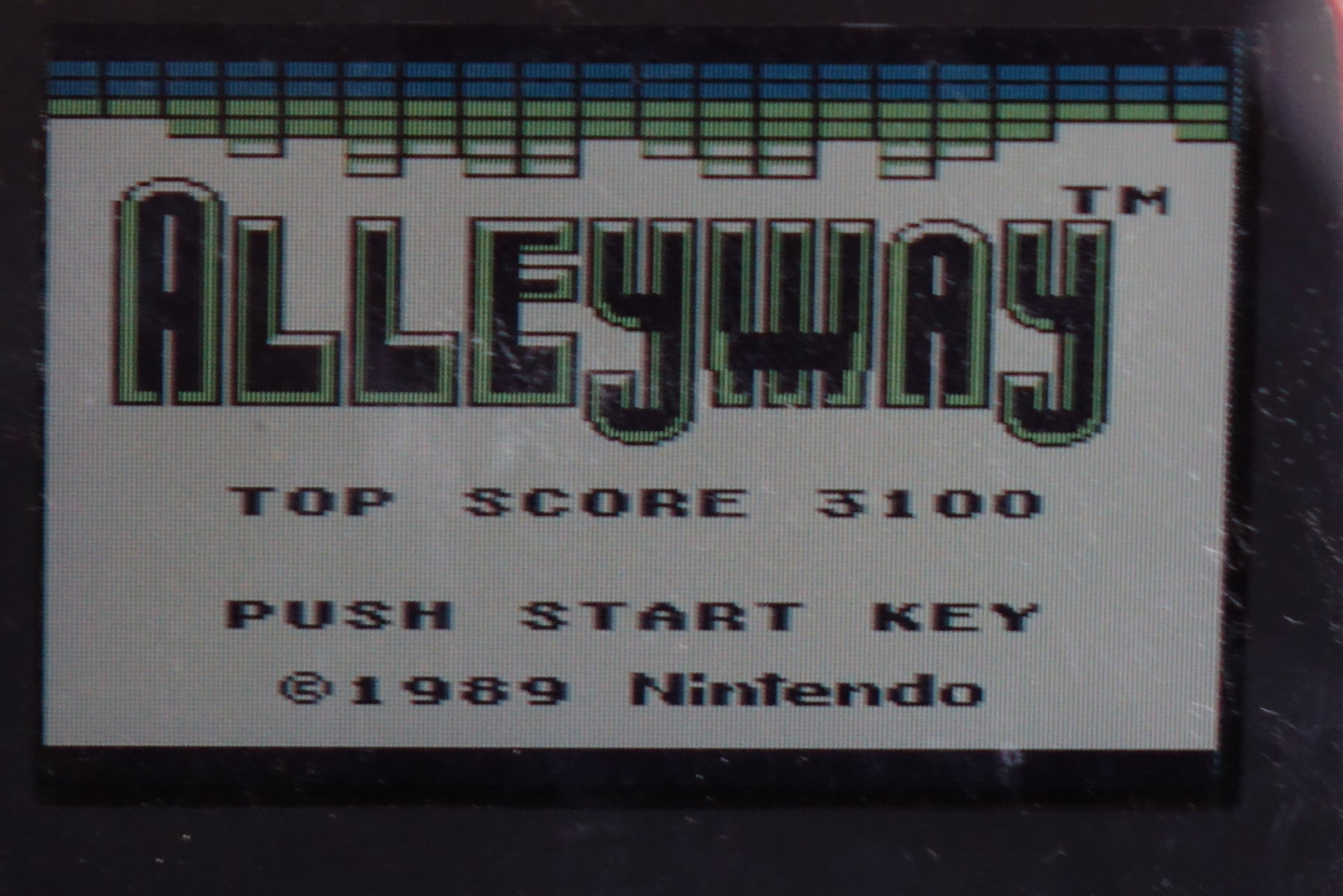 plus4punk: Alleyway (Game Boy) 3,100 points on 2020-04-18 10:28:12