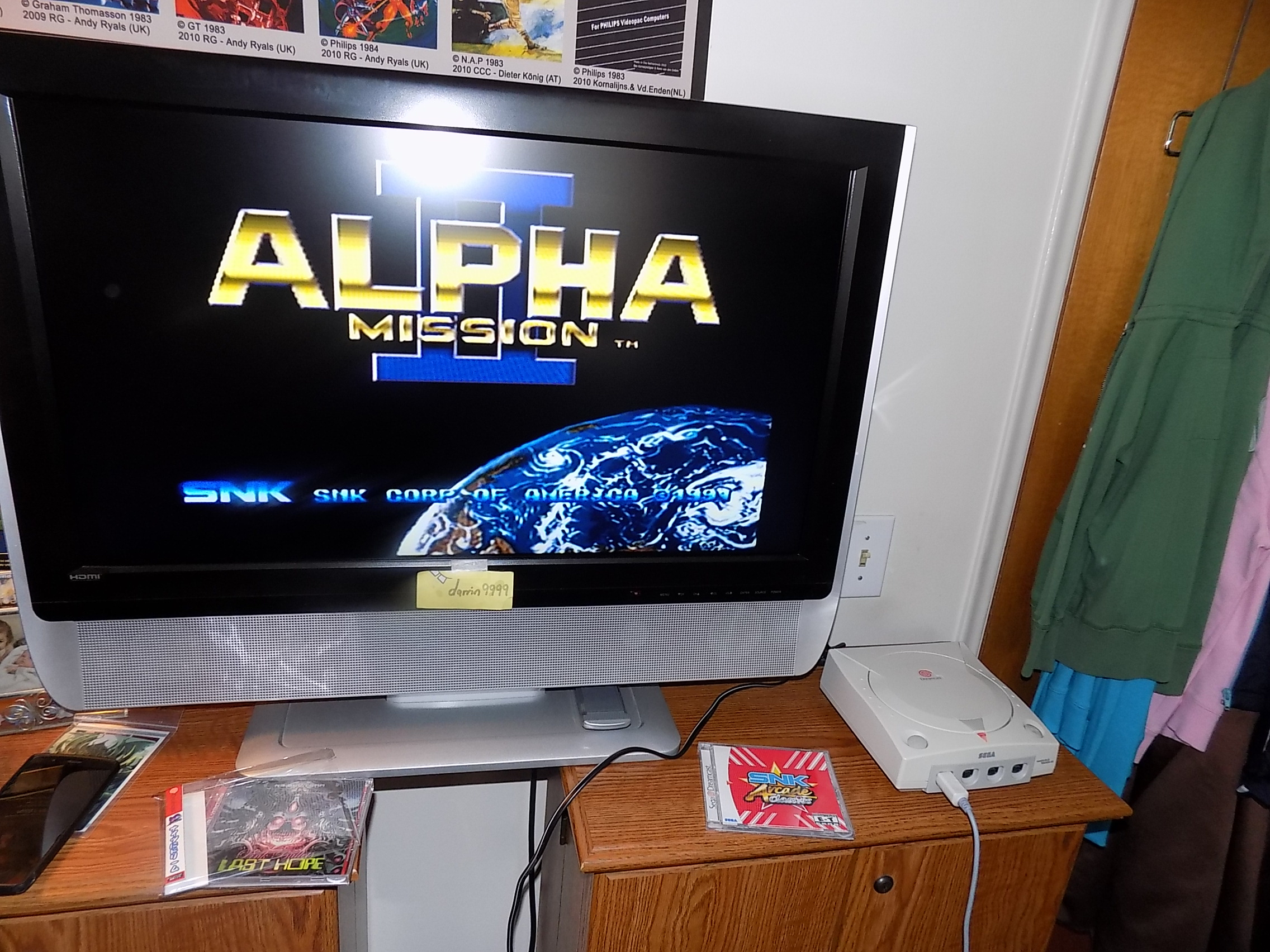 darrin9999: Alpha Mission II (Dreamcast) 85,800 points on 2018-03-01 14:23:46