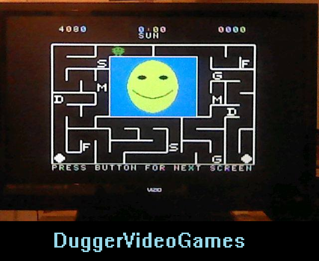 DuggerVideoGames: Alphabet Zoo (Colecovision Flashback) 4,080 points on 2016-03-29 04:52:26
