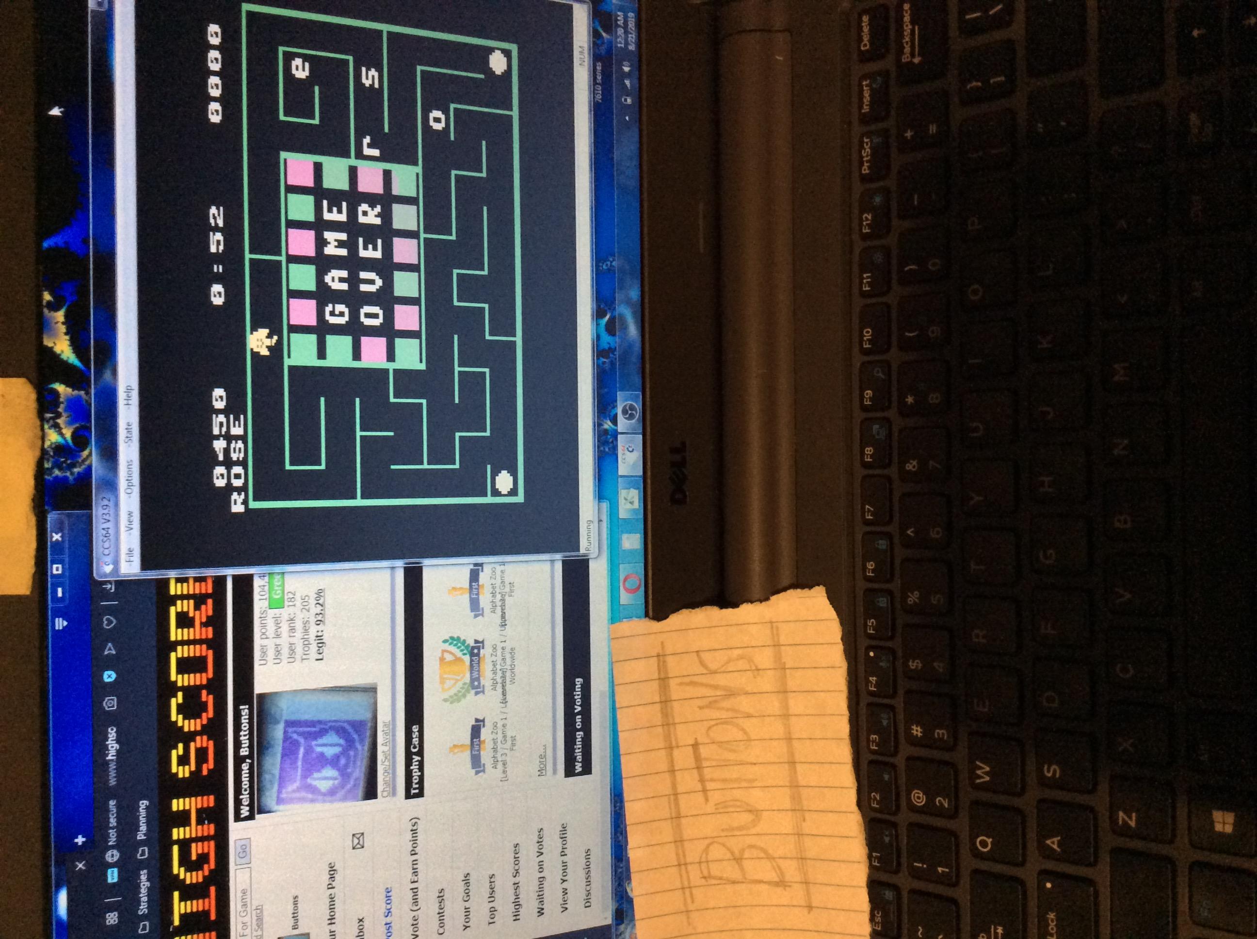 Alphabet Zoo [Level 2 / Game 2 / Uppercase] 450 points