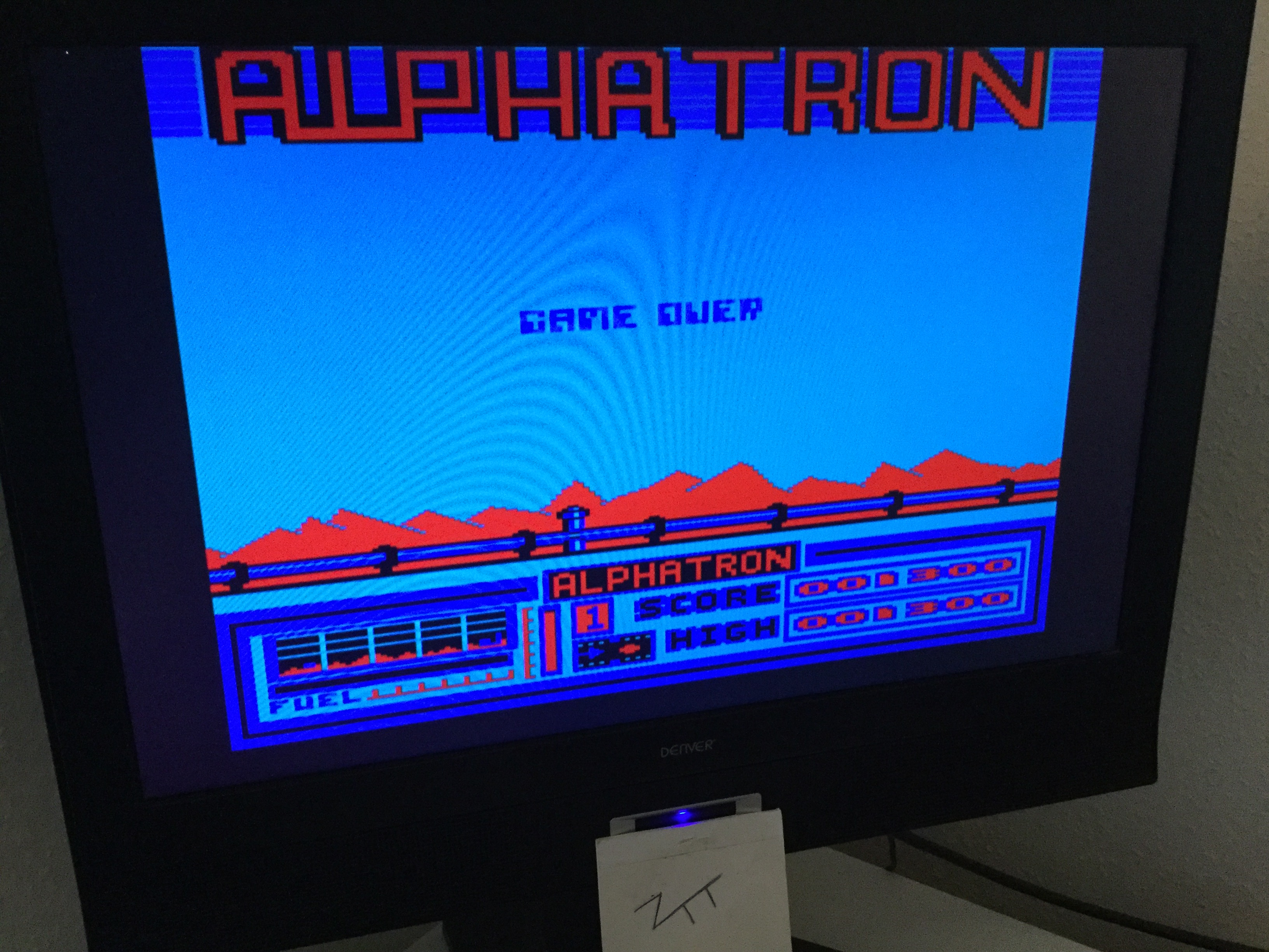 Frankie: Alphatron (Acorn Electron) 1,300 points on 2020-03-21 06:32:24