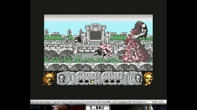 S.BAZ: Altered Beast (Commodore 64 Emulated) 8,200 points on 2020-08-09 18:15:11