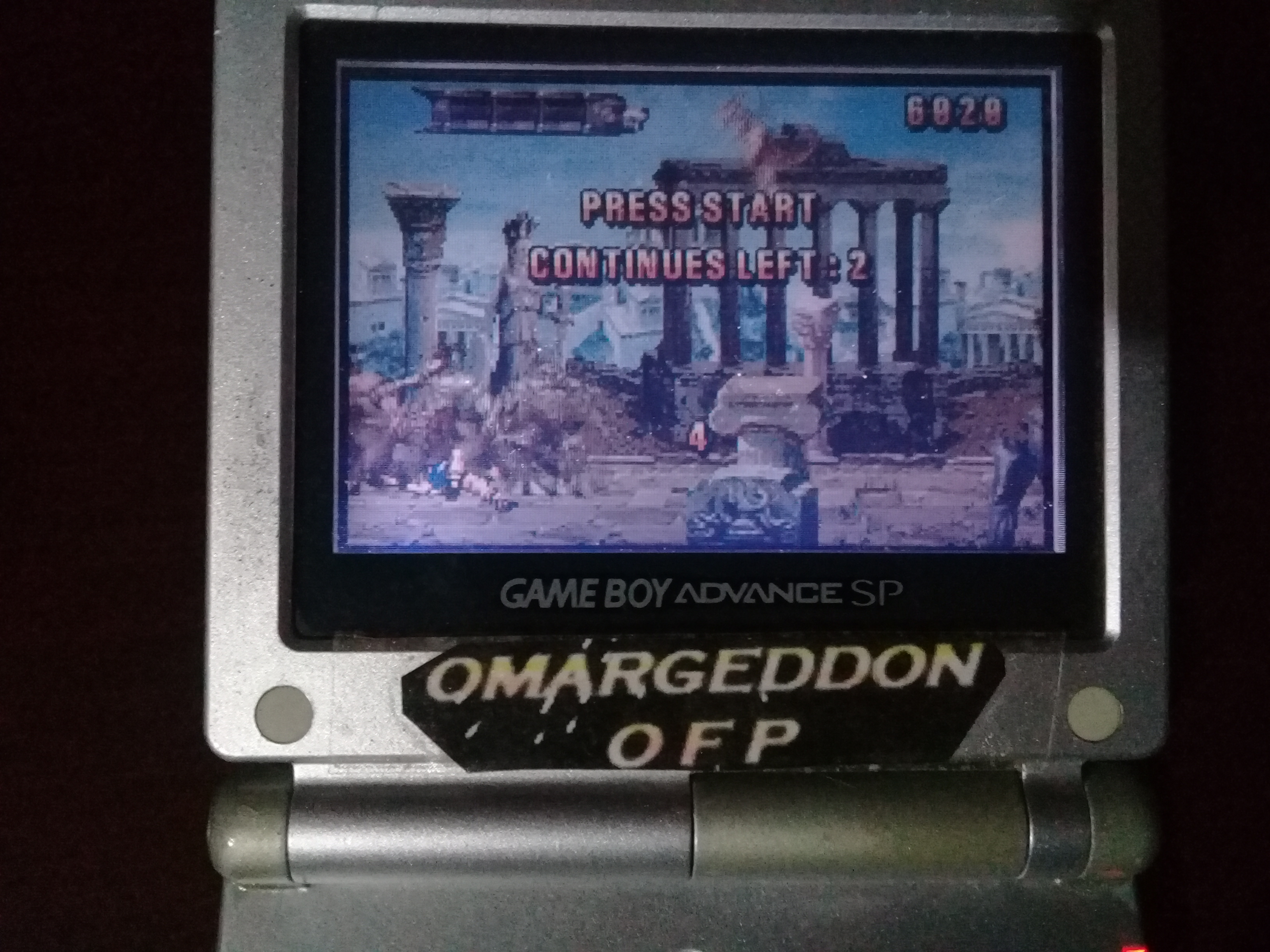 omargeddon: Altered Beast: Guardian of the Realms (GBA) 6,020 points on 2019-10-27 19:26:48