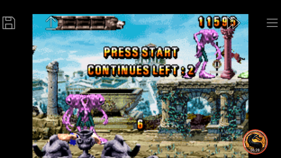 omargeddon: Altered Beast: Guardian of the Realms (GBA Emulated) 11,595 points on 2019-10-29 00:28:43