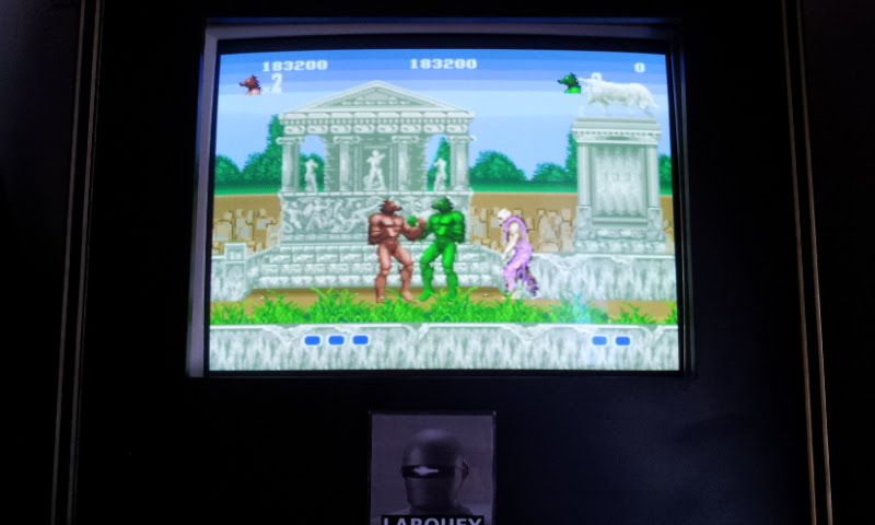 Altered Beast 183,200 points