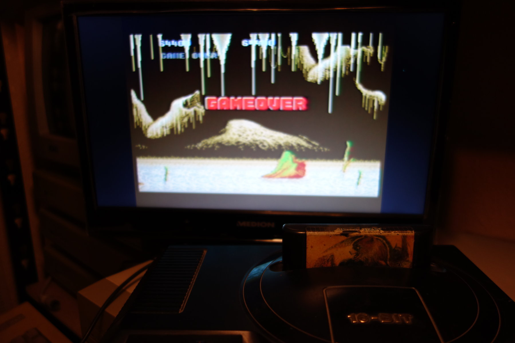 Altered Beast 64,400 points