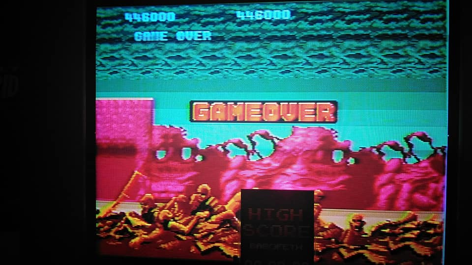 Altered Beast 446,000 points