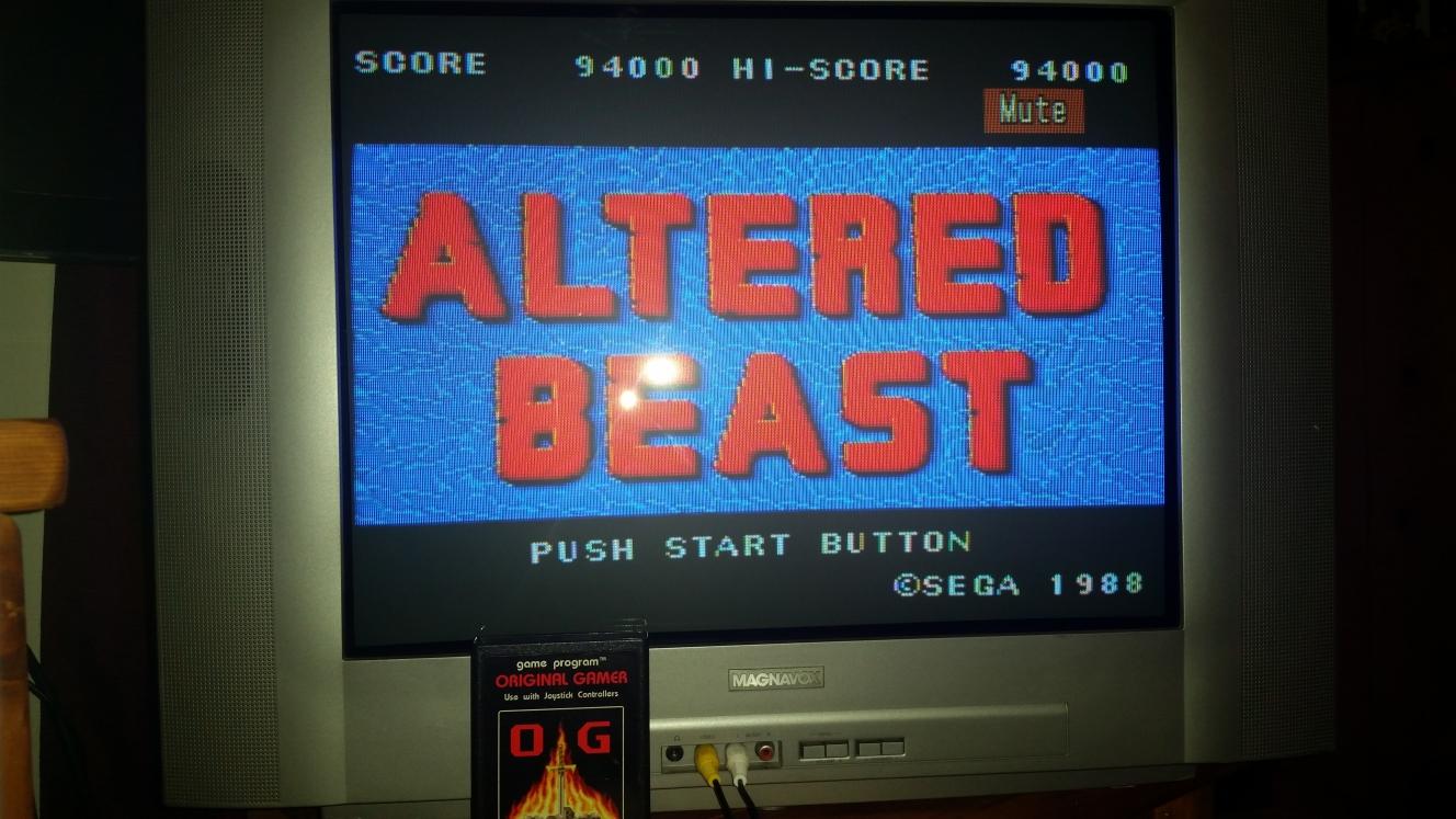 OriginalGamer: Altered Beast (Sega Master System) 94,000 points on 2016-04-30 15:02:53