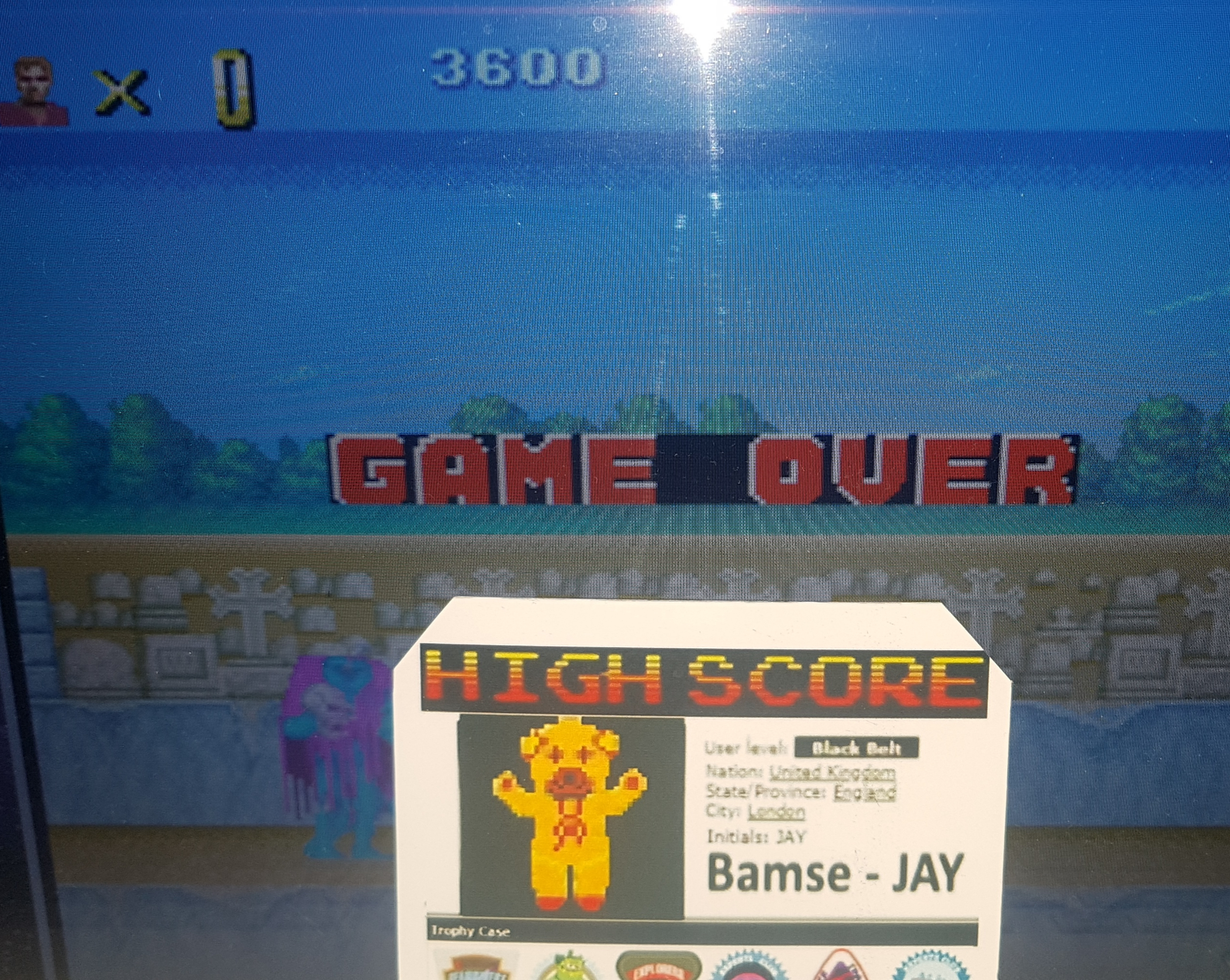 Bamse: Altered Beast (TurboGrafx-16/PC Engine Emulated) 3,600 points on 2019-10-18 15:01:22