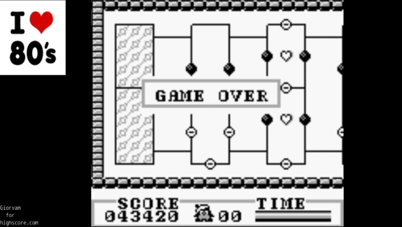 Giorvam: Amazing Penguin (Game Boy Emulated) 43,420 points on 2019-12-28 07:23:55