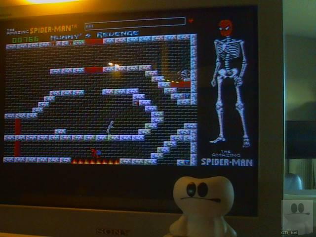 GTibel: Amazing Spider-Man and Captain America in Dr. Doom