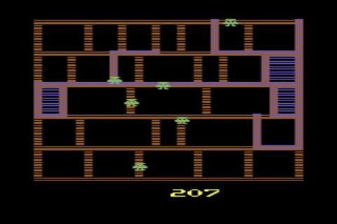 GAMES: Amidar (Atari 2600 Novice/B) 207 points on 2019-12-31 08:40:22
