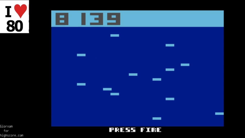 Giorvam: Amoeba Jump (Atari 2600 Emulated) 8,139 points on 2019-12-26 05:10:18