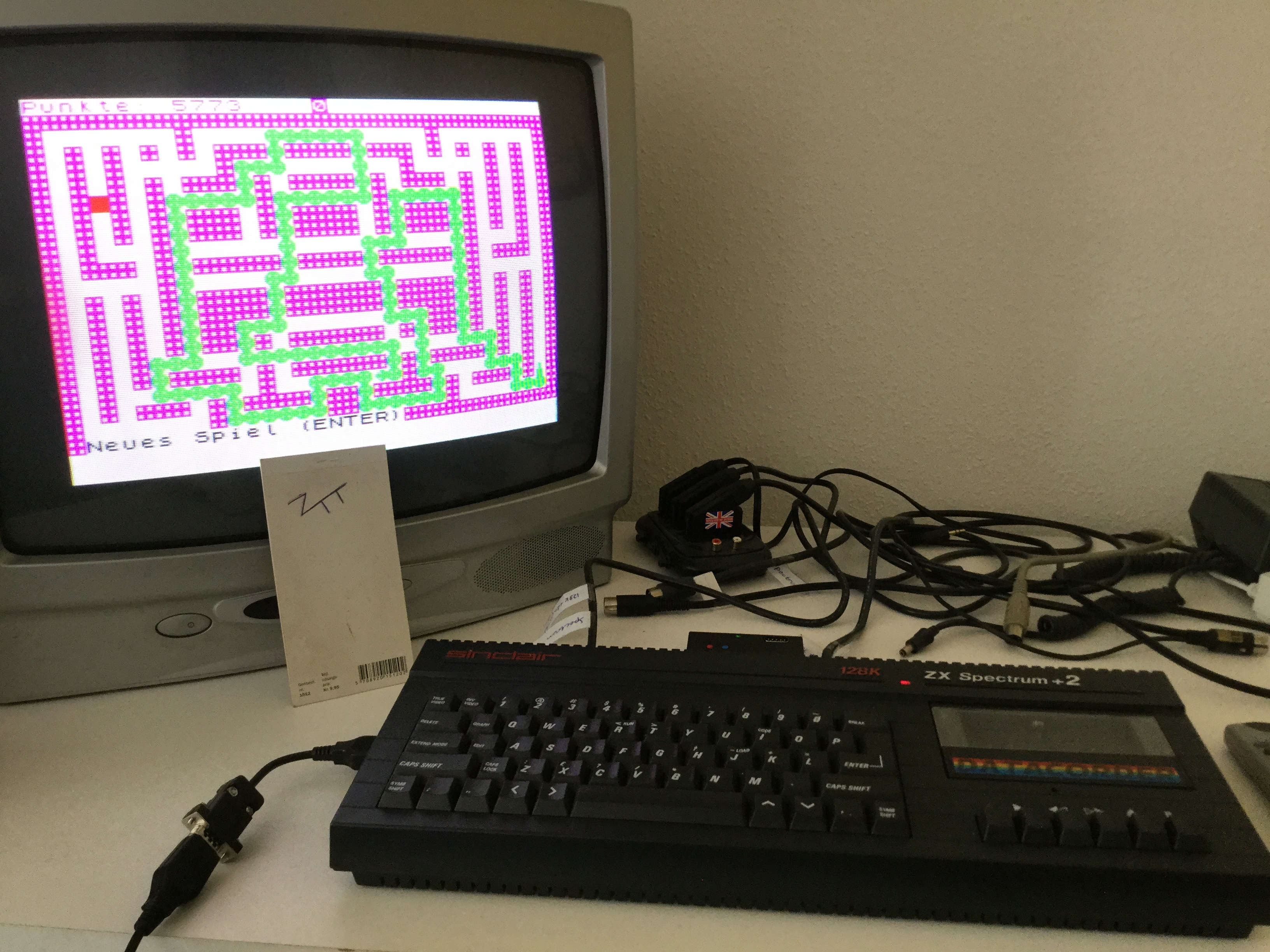 Frankie: Anaconda [Simon Gleissner] (ZX Spectrum) 5,773 points on 2017-06-18 03:07:21