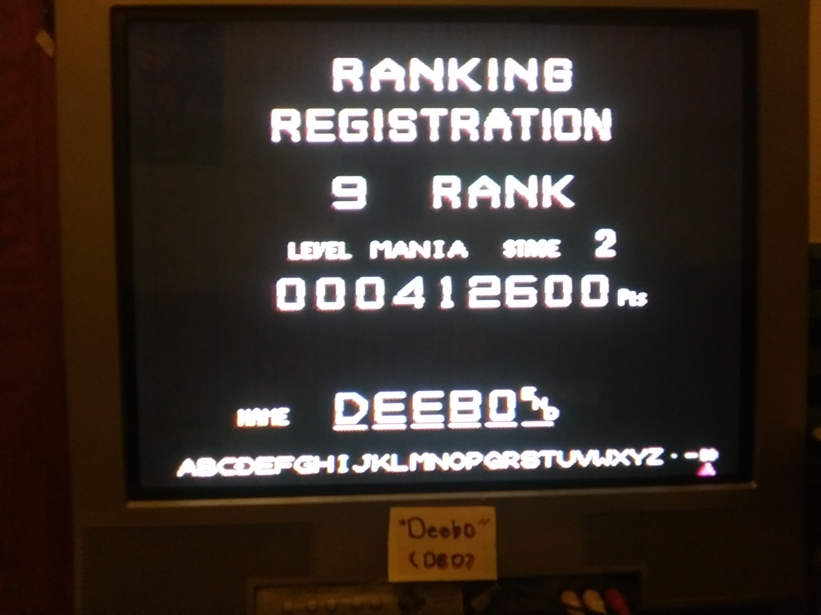Deebo: Android Assault: Mania (Sega Genesis / MegaDrive) 412,600 points on 2019-03-20 20:53:59