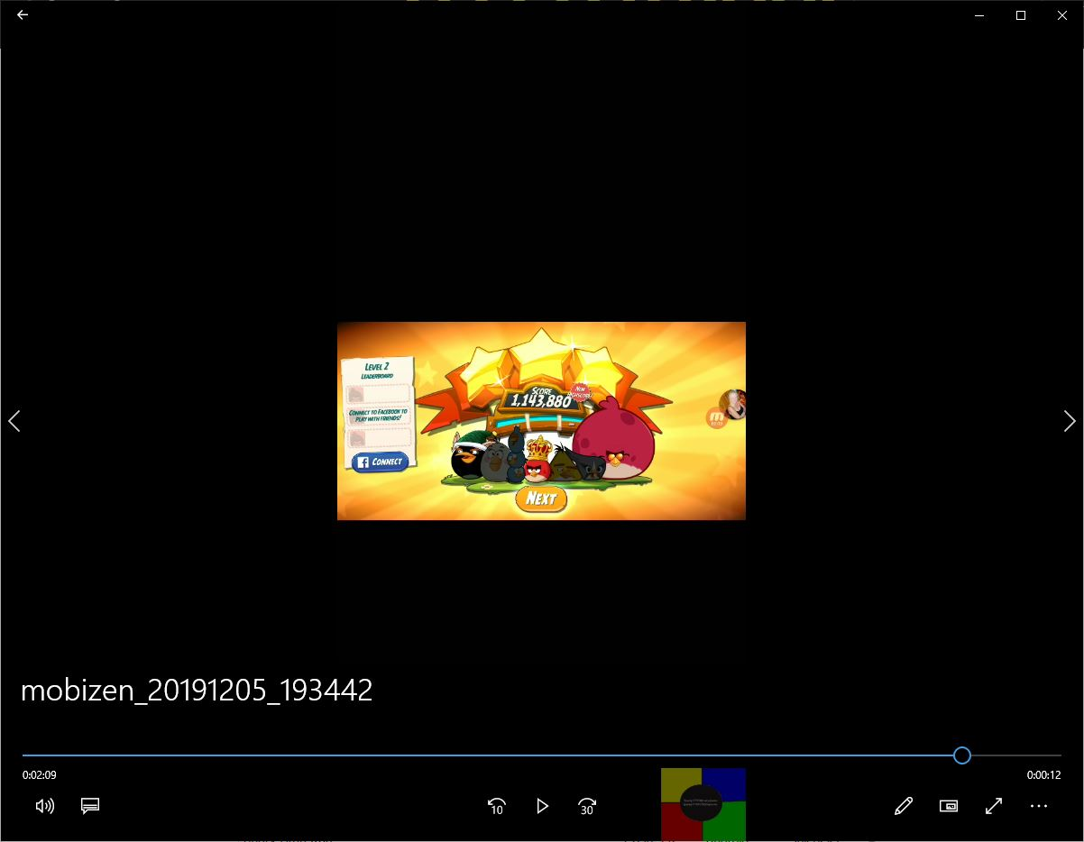 speedy4759123: Angry Birds 2: Level 2 (Android) 1,143,880 points on 2019-12-12 01:16:32