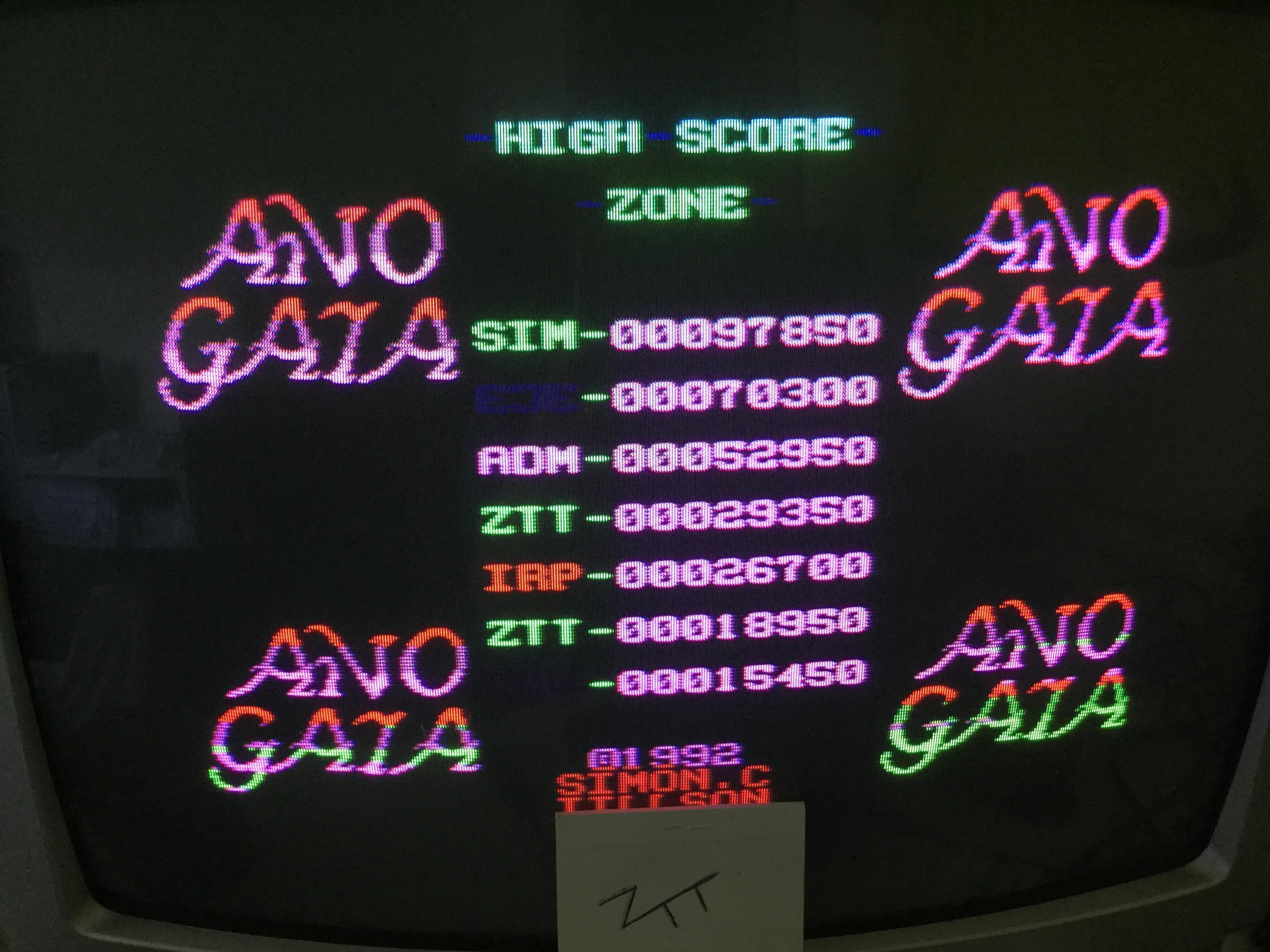 Frankie: Ano Gaia (ZX Spectrum) 29,350 points on 2017-06-18 05:39:58