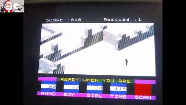 GTibel: Ant Attack [Quicksilva Ltd.] [Rescued * 50000 + Score] (ZX Spectrum) 50,810 points on 2017-12-22 07:26:27