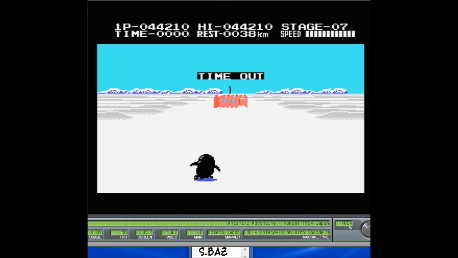 S.BAZ: Antarctic Adventure (Colecovision Emulated) 44,210 points on 2018-02-11 19:48:21