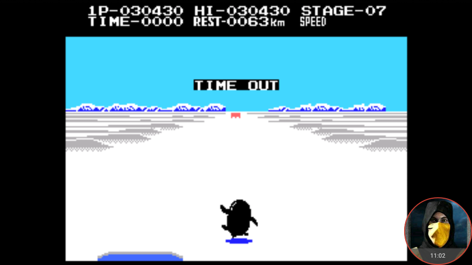 omargeddon: Antarctic Adventure (Colecovision Emulated) 30,430 points on 2018-04-16 00:41:58