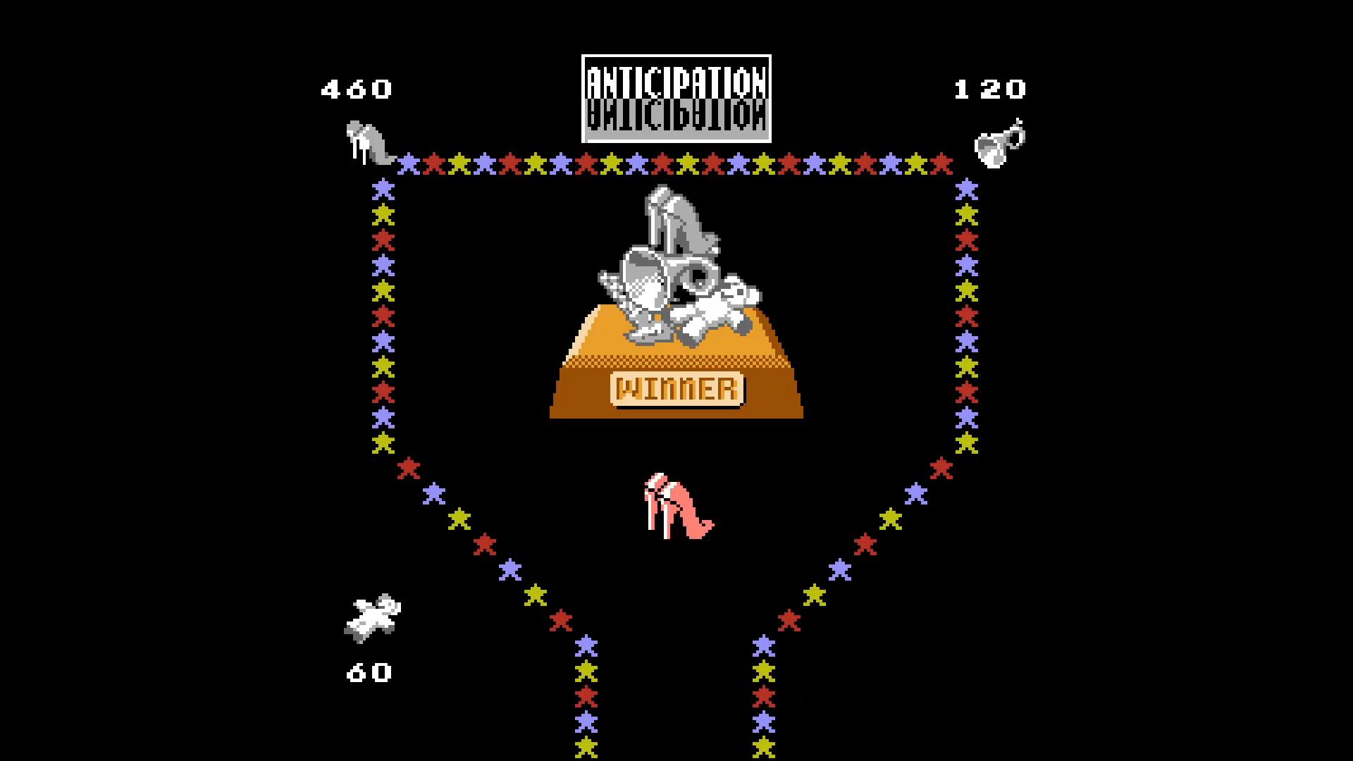 AkinNahtanoj: Anticipation [2 Computer Opponents/ Medium] (NES/Famicom Emulated) 460 points on 2020-10-01 16:26:54
