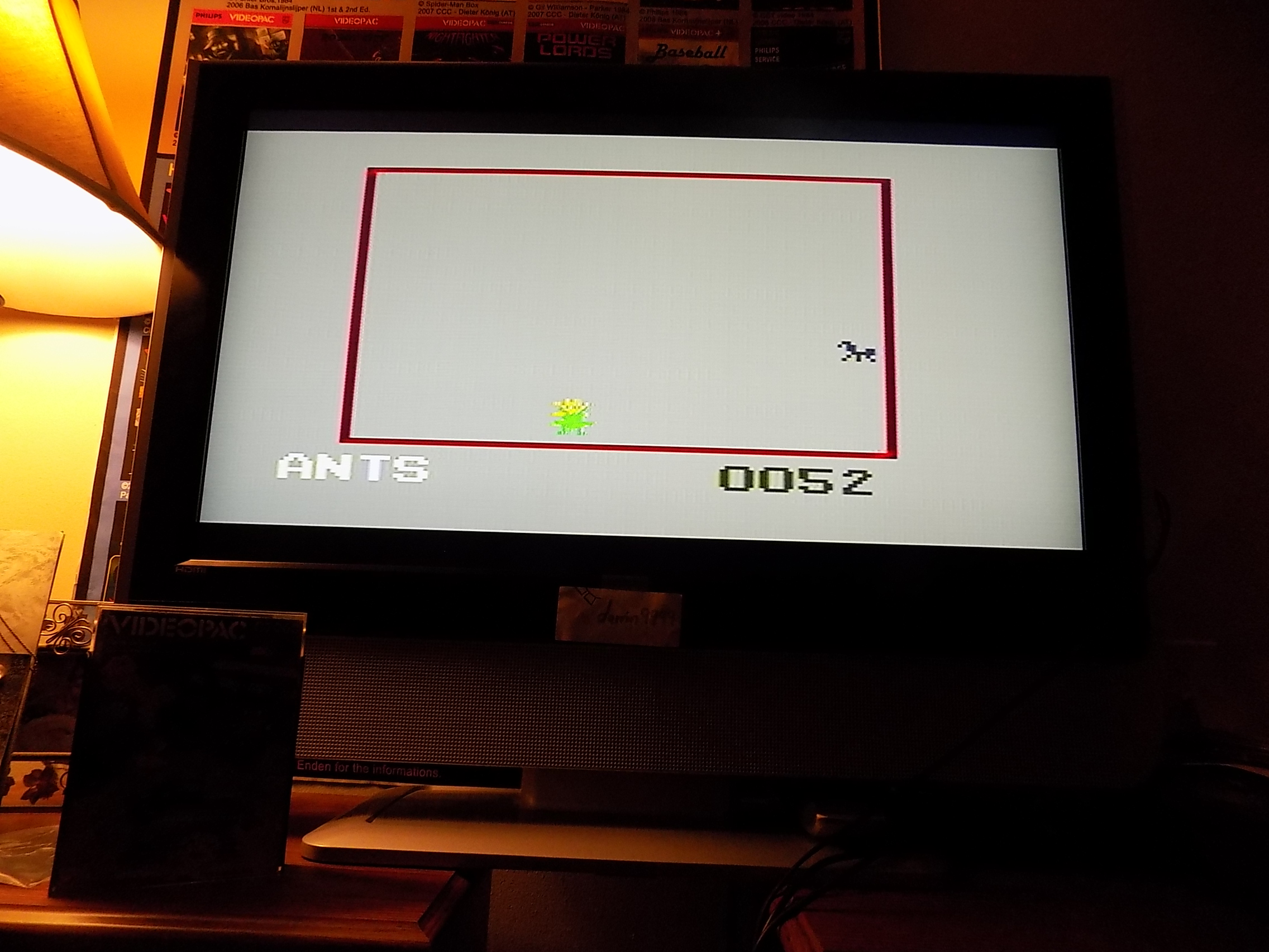 darrin9999: Ants (Odyssey 2 / Videopac) 52 points on 2018-03-12 10:36:46