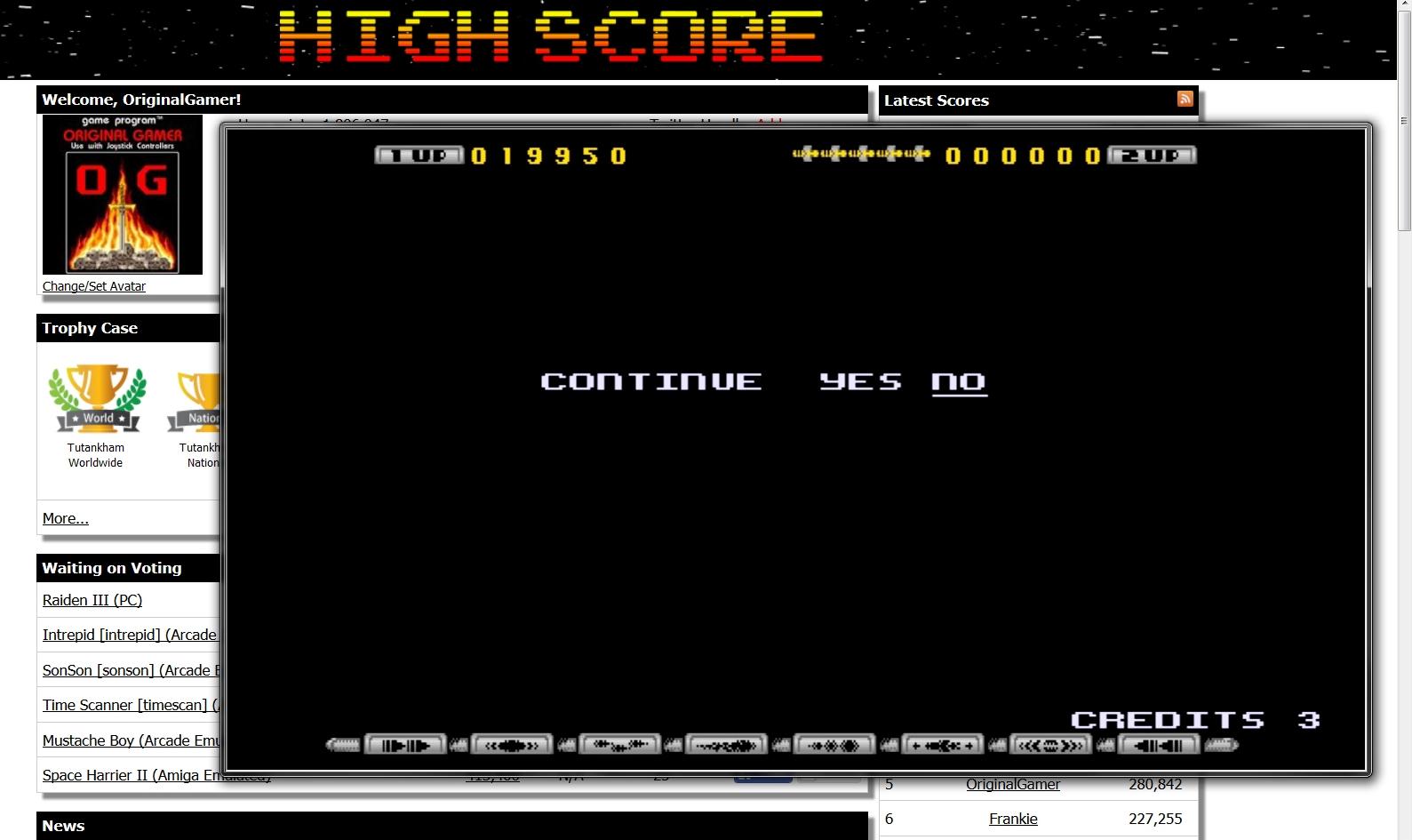 OriginalGamer: Apidya (Amiga Emulated) 19,950 points on 2015-07-31 00:38:14