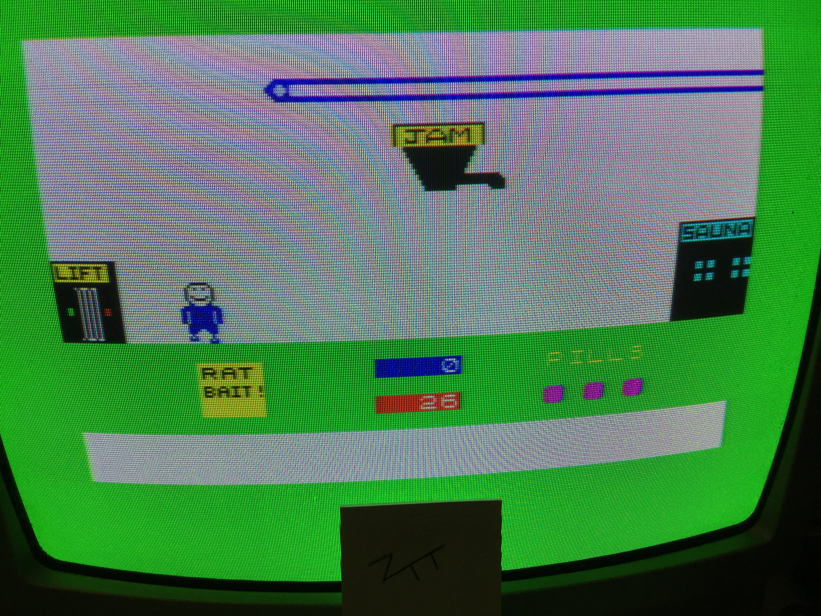 Frankie: Apple Jam (ZX Spectrum) 26 points on 2017-06-24 02:55:52
