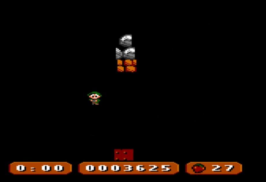 LuigiRuffolo: Apple Snaffle (Atari 7800 Emulated) 3,625 points on 2020-12-25 03:50:32