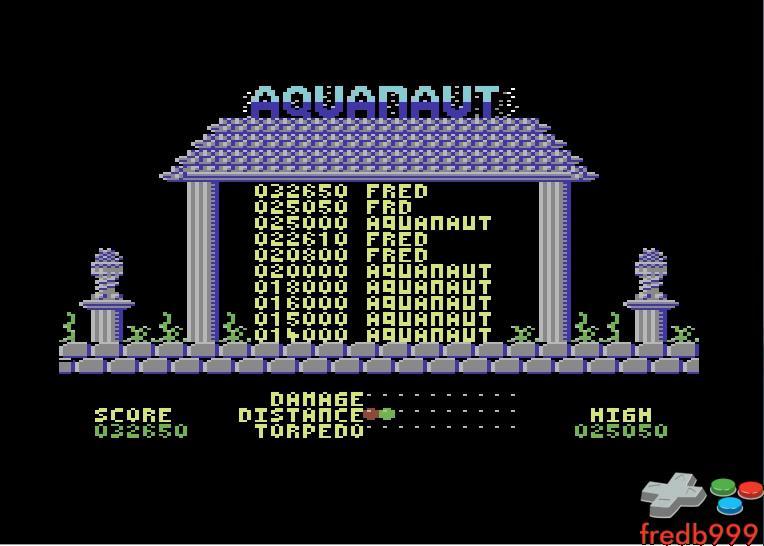 Aquanaut 32,650 points