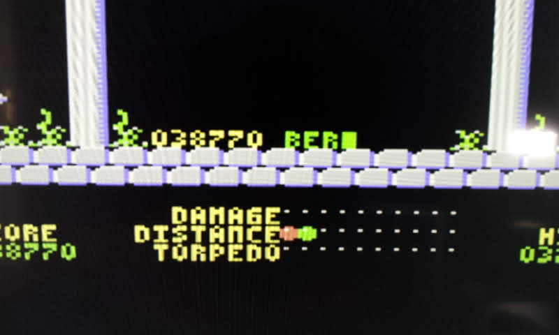 Larquey: Aquanaut (Commodore 64 Emulated) 38,770 points on 2018-09-02 07:50:34