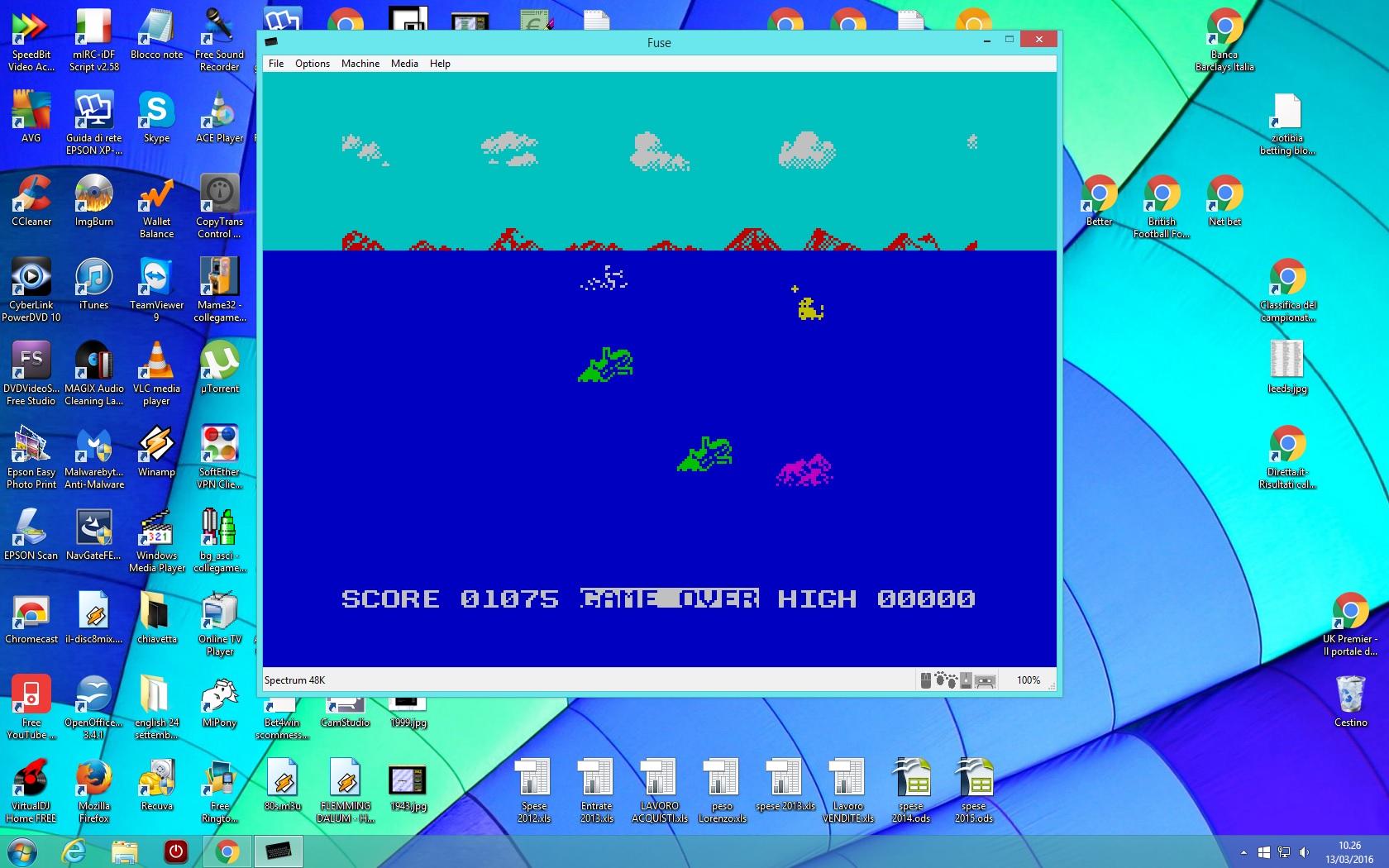 Aquaplane 1,075 points