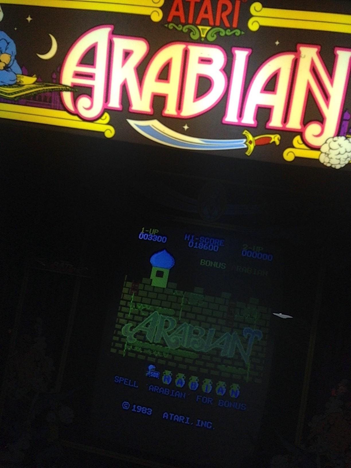 Arabian 3,300 points