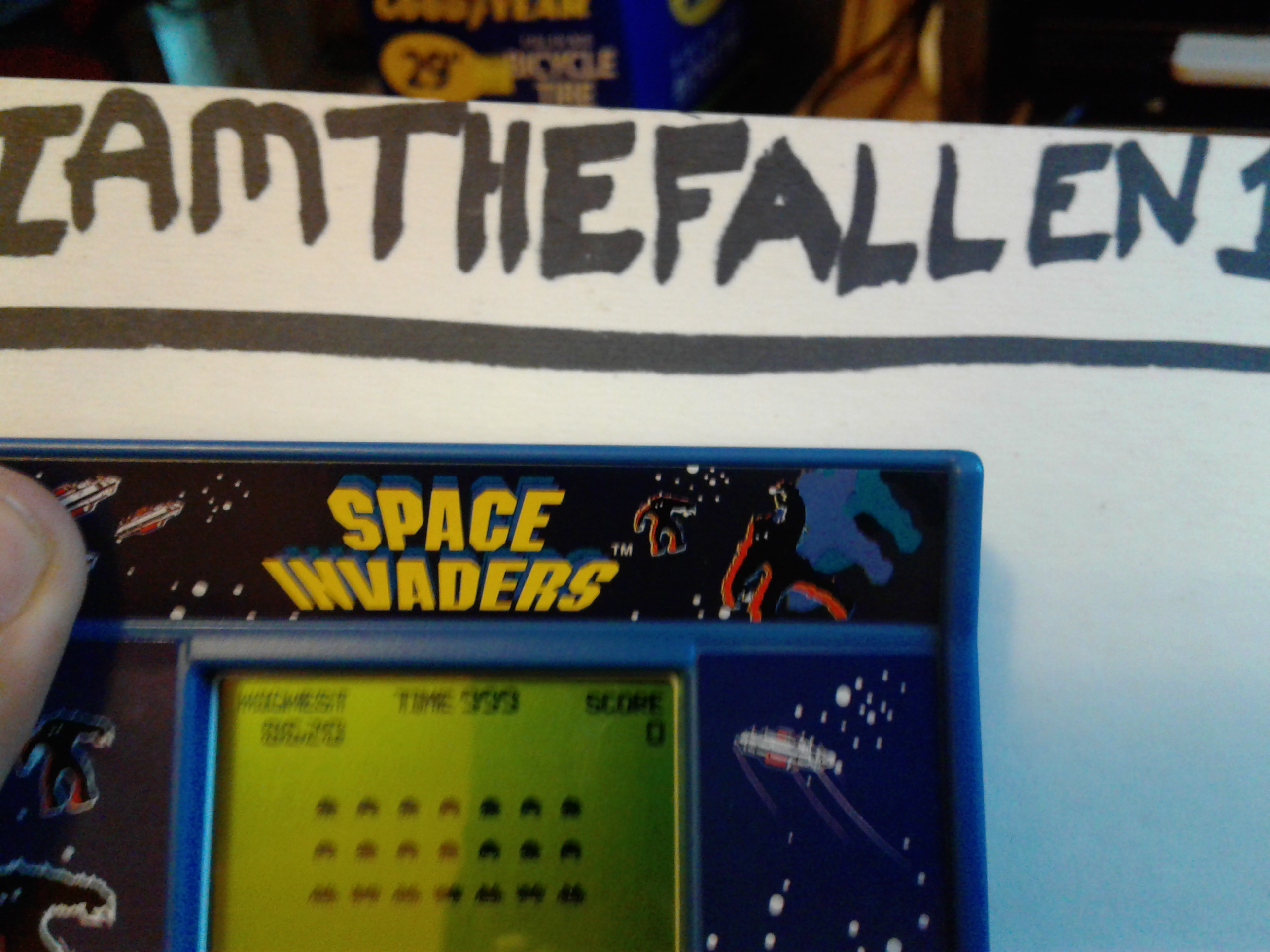 Arcade Classics 02: Space Invaders 8,620 points