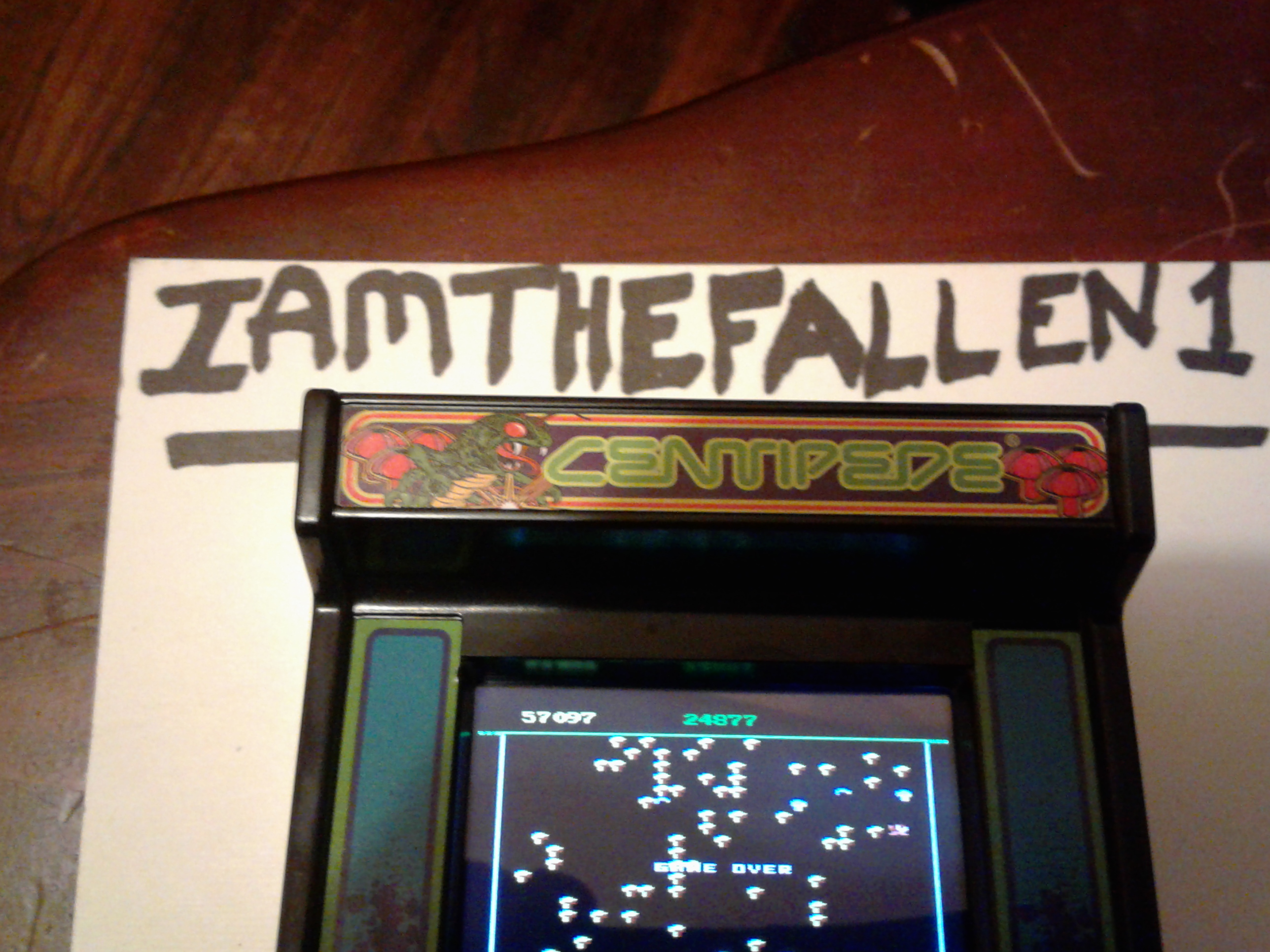 iamthefallen1: Arcade Classics 03: Centipede (Dedicated Handheld) 57,097 points on 2017-06-20 16:45:31