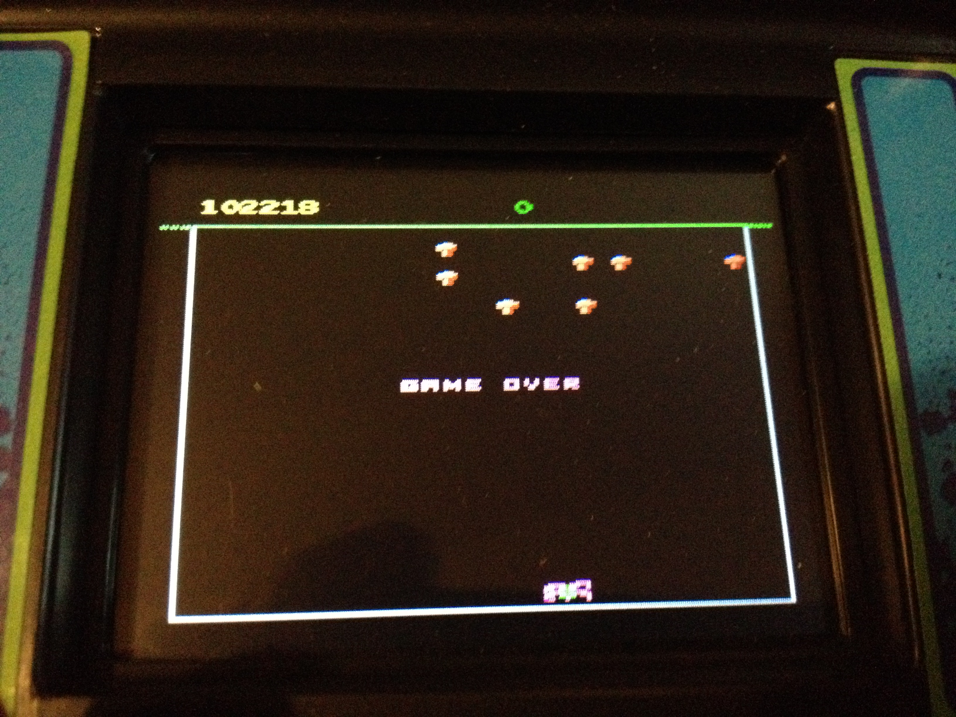 zerooskul: Arcade Classics 03: Centipede (Dedicated Handheld) 102,218 points on 2020-05-18 16:43:03