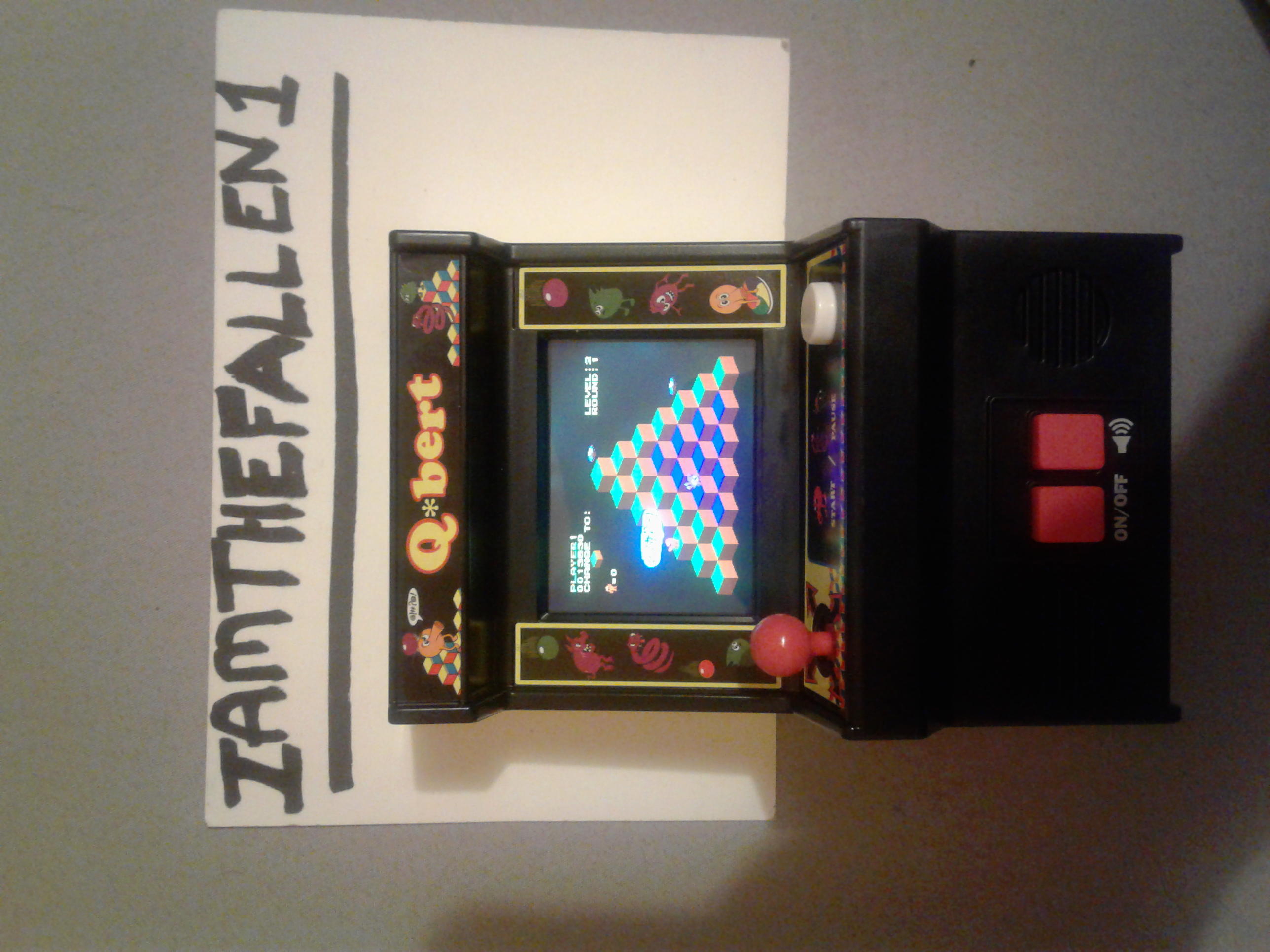 iamthefallen1: Arcade Classics 04: Q*bert (Dedicated Handheld) 13,830 points on 2017-06-22 05:20:47