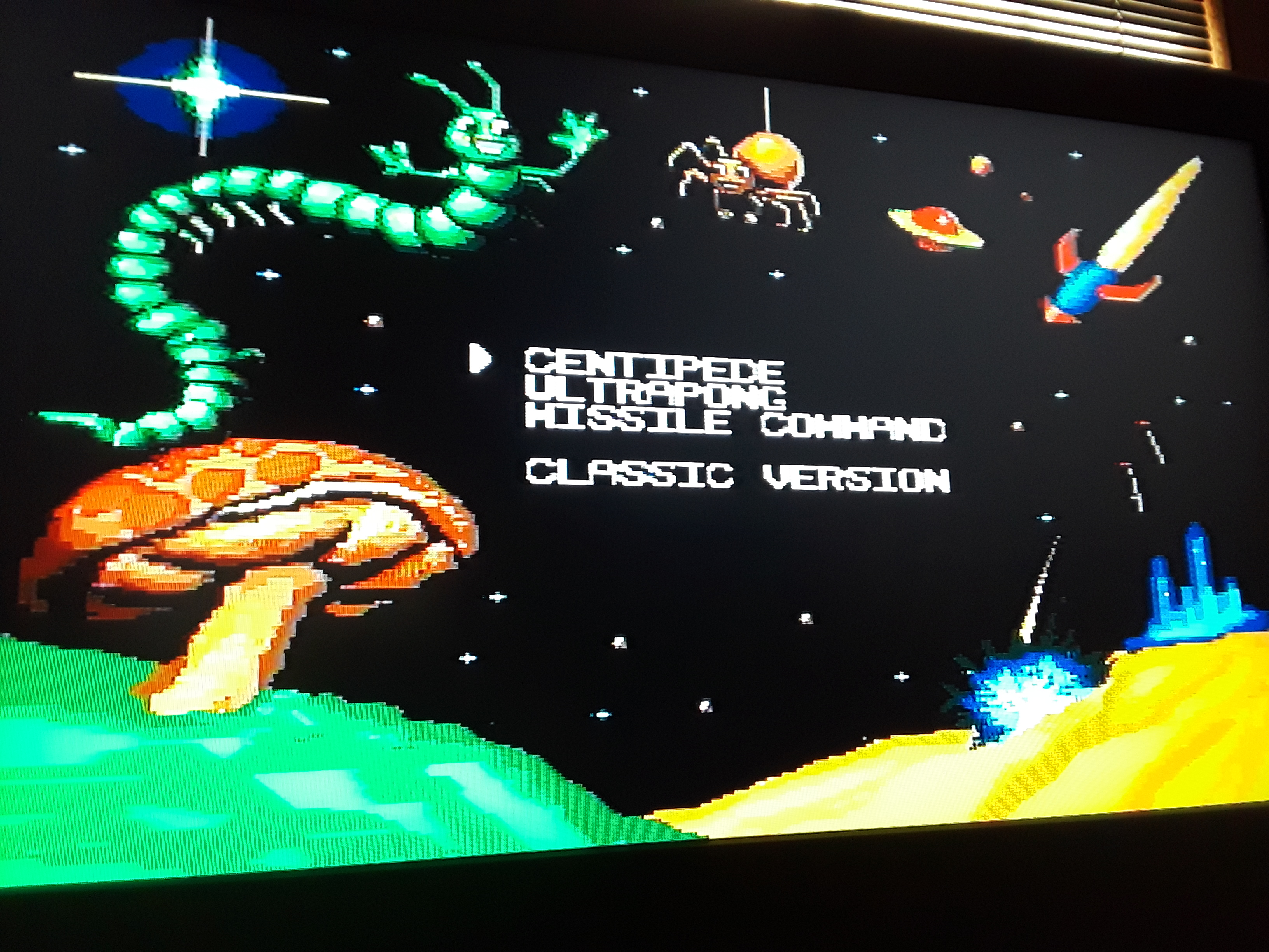 JML101582: Arcade Classics: Centipede (Sega Genesis / MegaDrive Emulated) 10,150 points on 2018-08-18 19:54:58